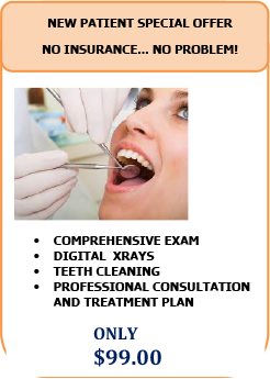 NEW PATIENT SPECIALS at Yanver Dental in Medord, MA